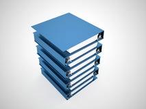Documenta o livro do dobrador rendido ilustração royalty free