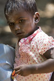 Documentary editorial image,Poverty in the street India Royalty Free Stock Images
