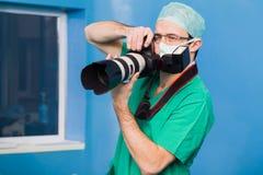 Documentation de la chirurgie photographie stock