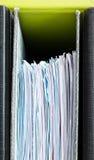 Documentboekhouding en belastingen Royalty-vrije Stock Foto's