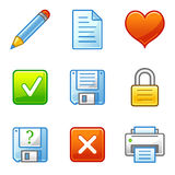 Documente ícones do Web