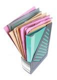 Documente la carpeta de papel Fotos de archivo