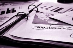 Documente le cahier Images libres de droits