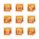 Documente los iconos del Web