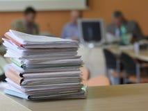 Documenten Stock Foto's