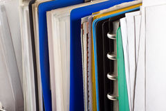 Documenten en dossieromslagen Royalty-vrije Stock Afbeelding