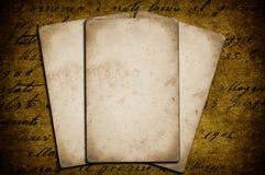 Documenten op achtergrond Royalty-vrije Stock Fotografie