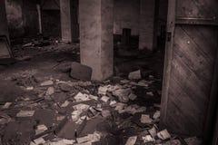 Documenten verlaten fabriek stock foto