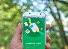 Documenti app di Google Fotografia Stock