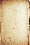Documento afflitto di decomposizione fotografia stock