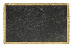 Documento in bianco della foto dell'annata isolato Immagini Stock