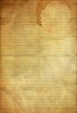 Documento blu e rosso dell'annata di piegatura allineata del grunge Immagine Stock