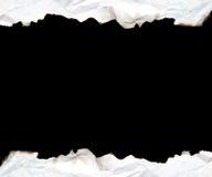 Documento bruciato del bordo con spazio per testo Fotografia Stock Libera da Diritti