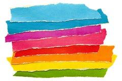 Documento colorato fotografia stock
