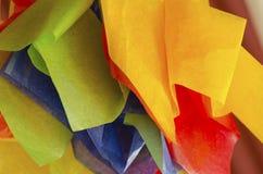 Documento colorato Immagini Stock