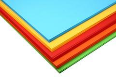Documento colorato Immagine Stock