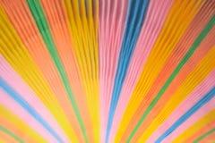 Documento colorido borroso sobre fondo foto de archivo libre de regalías