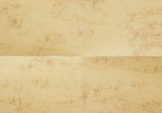 Documento con la decorazione di marmo Fotografia Stock Libera da Diritti