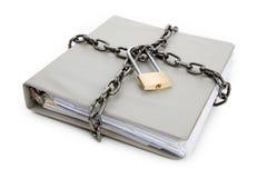 Documento confidencial Foto de archivo libre de regalías
