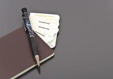 Documento de embarque Imagen de archivo libre de regalías