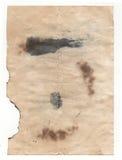 Documento de la antigüedad del viejo estilo sobre el fondo blanco fotos de archivo libres de regalías