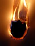 Documento del fuoco Fotografia Stock Libera da Diritti
