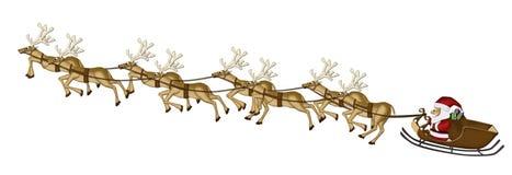 Documento del gelso delle renne di natale Immagini Stock