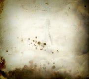 Documento del grunge dell'ustione Fotografie Stock