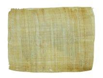 Documento del papiro Immagine Stock