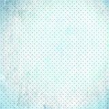 Documento del puntino di Polka dello scarto dell'annata Immagine Stock