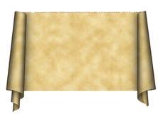 Documento del rotolo dell'annata Immagine Stock