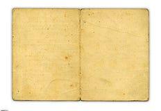 Documento del vintage sobre el fondo blanco Imagen de archivo