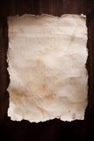 Documento dell'annata fotografie stock libere da diritti