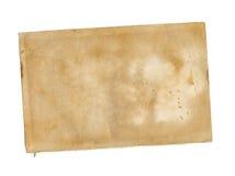 Documento dell'annata. Fotografie Stock