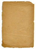 Documento dell'annata Fotografie Stock