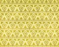 Documento dell'annata con i daffodils Immagini Stock Libere da Diritti