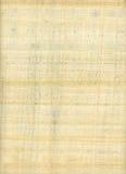 Documento dell'annata; pergament Fotografie Stock