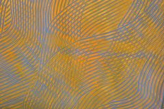 Documento dell'inserimento: Righe arancioni e blu immagine stock