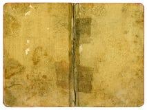 Documento della copertina di libro Immagini Stock Libere da Diritti