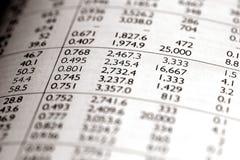 Documento di affari Immagini Stock