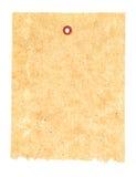 Documento di bambù isolato Immagini Stock