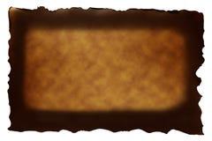 Documento di Brown con stile bruciato Immagini Stock Libere da Diritti