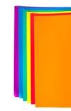 Documento di colore Fotografia Stock Libera da Diritti