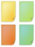 Documento di colore Immagine Stock