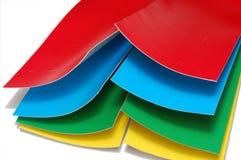 Documento di colore fotografie stock libere da diritti