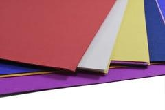 Documento di colore Fotografia Stock