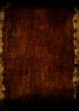 Documento di Grunge con il bordo della striscia della pellicola Immagine Stock