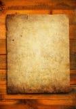 Documento di Grunge sulla plancia di legno illustrazione vettoriale