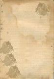 Documento di lettera del biglietto di S. Valentino Fotografie Stock