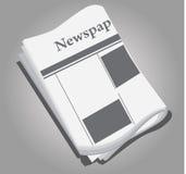 Documento di notizie Fotografia Stock
